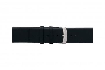 Morellato urrem Large X3076875019CR30 / PMX019LARGE30 Glat læder Sort 30mm