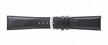 Morellato urrem Extra Napa X3395875019CR30 / PMX019EXTRAN30 Læder Sort 30mm + standard syning