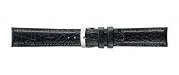 Morellato urrem Fresbee X4335713019CR24 / PMX019FRESBEI24 Læder Sort 24mm + standard syning