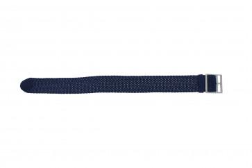 Perlon rem 20mm lyseblå