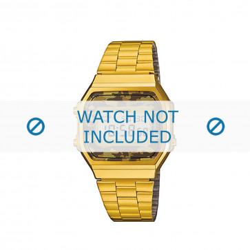 Casio urrem A168WEGC-5EF / A168WEGC-5 Stål Guld (Doublé) 18mm