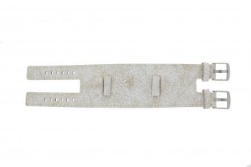 EXC urrem K6354264 Læder Hvid 24mm