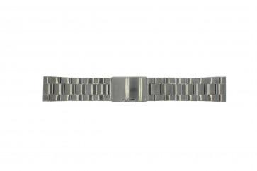 Fossil urrem FS4662 / 12XXXX / 25XXXX Metal Anthracite grå 24mm