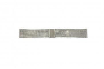 Davis urrem B0810 Metal Sølv 22mm