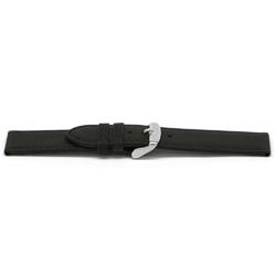 Urrem læder sort 20mm EX-G129