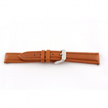 Ægte læder cognac brun 22mm G51