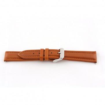 Ægte læder cognac brun 24mm G51
