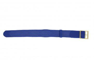 Urrem Universel PRLN.18.LB Nylon/perlon Blå 18mm