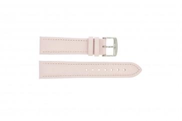 Ægte læder pink 22mm 283
