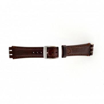 Rem til Swatch brun 19mm PVK-SC14.02