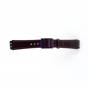 Rem passende til Swatch brun 17mm PVK-SC04.02