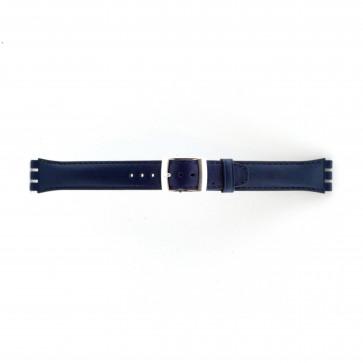 Rem til Swatch marineblå 19mm