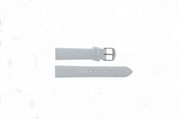 Timex læder hvid rem 18mm T2N791