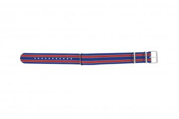 Timex urrem TW7C07100 Textil Blå 20mm