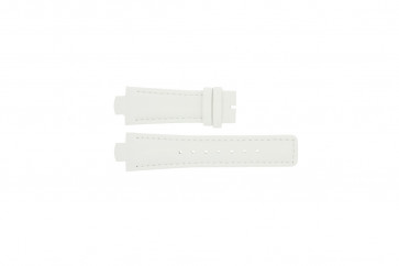 Breil urrem TW0394 / F660012788 Læder Hvid 12mm + syning hvid