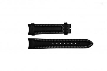 Urrem Breil TW0678 Læder Sort 22mm