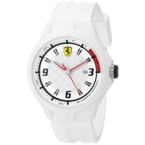 Ferrari urrem SF101.1 / 0830003 / SF689309000 / Scuderia Gummi Hvid 22mm