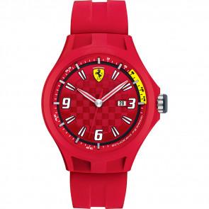 Urrem Ferrari 0830007 / SF689300005 Gummi Rød 22mm