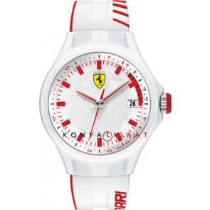 Ferrari urrem SF101.6 / 0830127 / SF689300079 / Scuderia Gummi Hvid 22mm