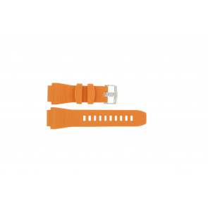 Urrem Jacques Lemans 1381 Gummi Orange 22mm