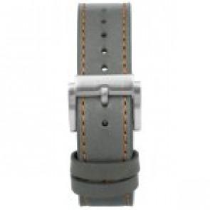 Urrem Prisma 1591 Læder Grå 22mm