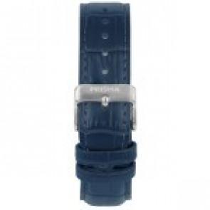 Urrem Prisma 1601 Læder Blå 21mm