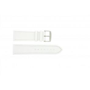 Ægte læder hvid 18mm 283