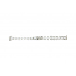 Boccia urrem 3261-01 Stål/Silikone Sølv 16mm