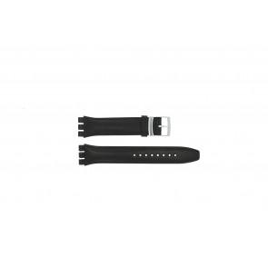 Urrem Swatch (alt.) 51643.01.17 Læder Sort 17mm