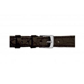 Morellato urrem Classico Cucito D2213052019DO08 / PMD019CLSCCU08 Krokodilleskind Sort 8mm + standard syning