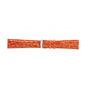 Morellato urrem Amadeus G.Croc Glans U0518052086CR22 / PMU086AMADEC22 Krokodilleskind Orange 22mm + standard syning