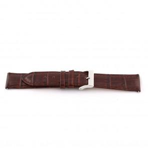 Urrem D341 Læder Brun 14mm + syning brun