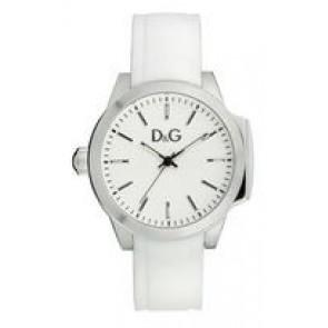 Urrem Dolce & Gabbana DW0746 Gummi Hvid 18mm