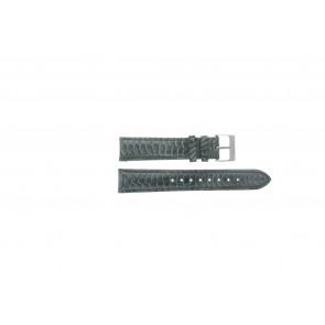 Esprit urrem ES103062 / 819660 Læder Grå 18mm + syning grå