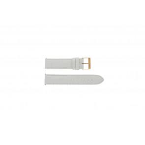 Urrem Guess W17516L1 Læder Hvid 20mm