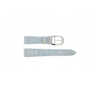 Urrem WoW LEDER-BLAUW-18 Læder Blå 18mm