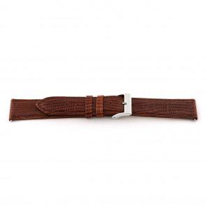 Ægte læderrem til ur cognac brun 14mm EX-G62