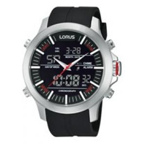 Urrem Lorus Z021-X002-RW607AX9 Gummi Sort 21mm