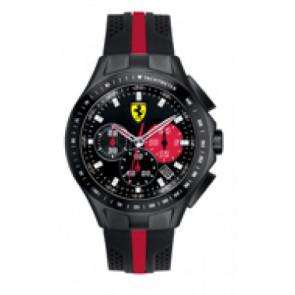 Urrem Ferrari SF-03-1-34-0015 / 689300022 Silikone Sort 22mm