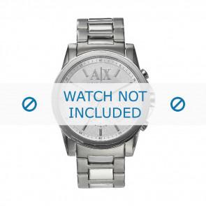 Armani urrem AX-2058 Stål Sølv 22mm