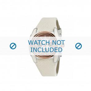 Breil urrem BW0383 / F260053231 / BW0384 Læder Hvid 25mm