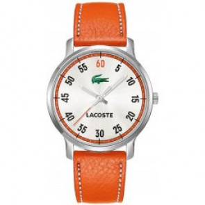 Urrem Lacoste 2000568 / LC-41-3-14-2199 Læder Orange 20mm