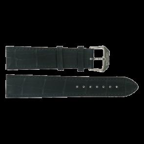 Certina urrem C600015907 21/18MM Læder Sort 21mm + syning sort