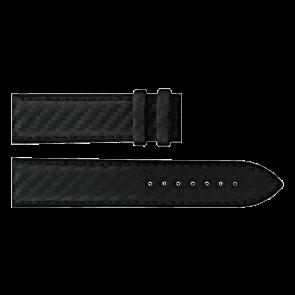 Certina urrem C610016427 Læder Sort 21mm + syning sort