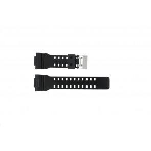Urrem Casio GLS-8900-1W / 10457909 Silikone Sort 16mm