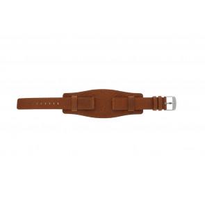 Davis urrem B0222 Læder Cognac 18mm