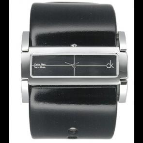 Urrem Calvin Klein K44231 Læder Sort