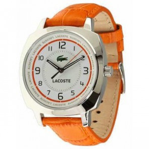 Urrem Lacoste 2000600 / LC-47-3-14-2233 Læder Orange 18mm