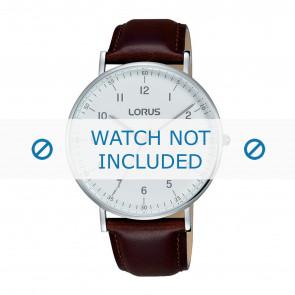 Lorus urrem VJ21 X071 / RH895BX9 Læder Brun 20mm + syning brun
