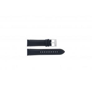Fossil (Smartwatches) urrem S221255 Læder Blå mørk 22mm